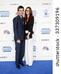 Small photo of Torrance Coombs and Alyssa Campanella at the 2nd Annual American Giving Awards held at the Pasadena Civic Auditorium in Los Angeles, California, United States on December 7, 2012.