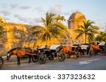 Horse Drawn Touristic Carriage...