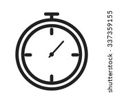 stopwatch  watch  timer icon... | Shutterstock .eps vector #337359155
