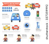 safety on the road ... | Shutterstock .eps vector #337359992