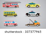 vector set of the isolated... | Shutterstock .eps vector #337377965