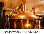 beer brewery | Shutterstock . vector #337378328