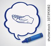 hand doodle | Shutterstock .eps vector #337393082