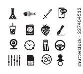 set of web icons for website...   Shutterstock .eps vector #337404512