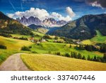 Countryside View Of The Funes...