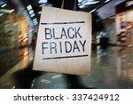 shopaholic with black friday