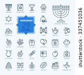 outline icon collection  ... | Shutterstock .eps vector #337451036