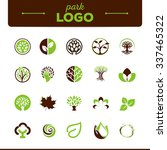 vector set of environmental... | Shutterstock .eps vector #337465322