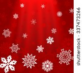 christmas red square background ...   Shutterstock .eps vector #337473266