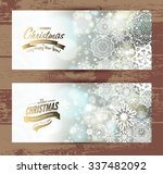 snowflake backgroundset of... | Shutterstock .eps vector #337482092