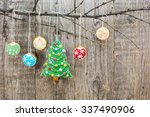 Gingerbread Christmas Tree Wit...