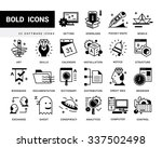 bold vector icons in a modern...