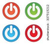 switch power flat icon