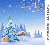vector cartoon drawing of a... | Shutterstock .eps vector #337518242