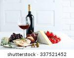 still life with various types... | Shutterstock . vector #337521452