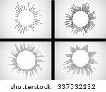 circular line vector equalizer .... | Shutterstock .eps vector #337532132