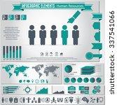 human resource management  ... | Shutterstock .eps vector #337541066
