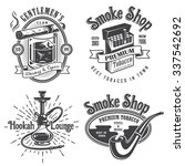 Set Of Vintage Tobacco Smoking...