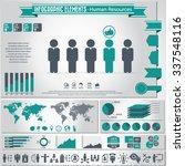 human resource management  ... | Shutterstock .eps vector #337548116
