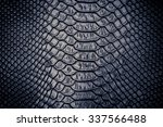 Close Up Of Snake Skin Texture...