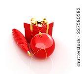 beautiful christmas gifts | Shutterstock . vector #337580582