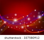 christmas background with... | Shutterstock .eps vector #337580912