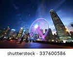 Observation Wheel Hong Kong  - Fine Art prints