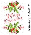 merry christmas | Shutterstock .eps vector #337601282