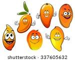 sweet tropical happy cartoon... | Shutterstock .eps vector #337605632