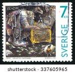 Sweden   Circa 1997  Stamp...