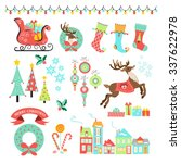 christmas icons  illustrations  ...