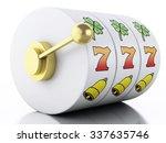3d renderer illustration. slot... | Shutterstock . vector #337635746
