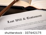 Small photo of Last Will and Testament