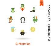 saint patricks day isolated... | Shutterstock .eps vector #337669322
