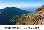 view from world's end  a sheer...   Shutterstock . vector #337699355