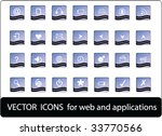 web icons | Shutterstock .eps vector #33770566
