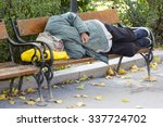 Homeless Person Is Sleeping On...