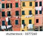the tipica architecture in the...   Shutterstock . vector #3377260