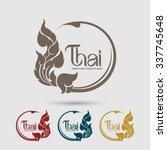 thai art  vector | Shutterstock .eps vector #337745648