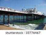 Brighton Pier On Hottest Day O...