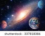 astrology astronomy earth outer ... | Shutterstock . vector #337818386