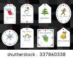 Christmas Set With Gift Tags....