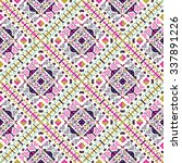 ethnic seamless pattern. aztec ... | Shutterstock .eps vector #337891226