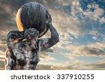 The Mythological Atlas Holding...