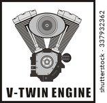 V Twin Engine