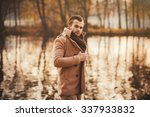 portrait of a fashionable man... | Shutterstock . vector #337933832