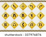 american traffic signs check my ... | Shutterstock .eps vector #337976876
