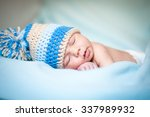 newborn boy | Shutterstock . vector #337989932