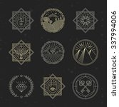 Vector Set Of Design Elements ...