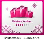 illustration of christmas card... | Shutterstock . vector #338025776